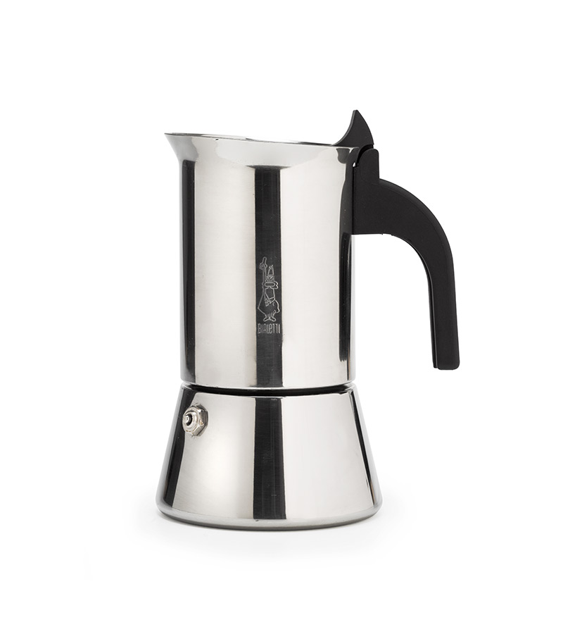 bialetti venus induction 4 cup white horse coffee. Black Bedroom Furniture Sets. Home Design Ideas