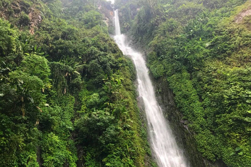 El Vergel Waterfall